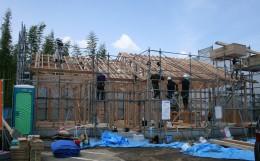 棟上げ 上棟 構造 木造